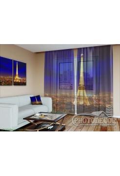 """3D ФотоТюль """"Блеск Парижа"""""""