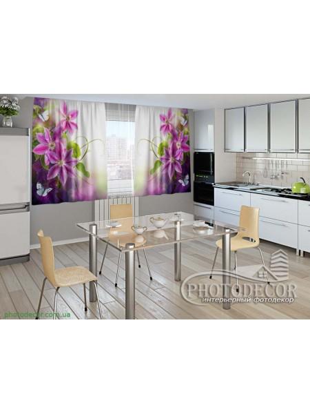 """Фото шторы для кухни """"Безупречность"""""""